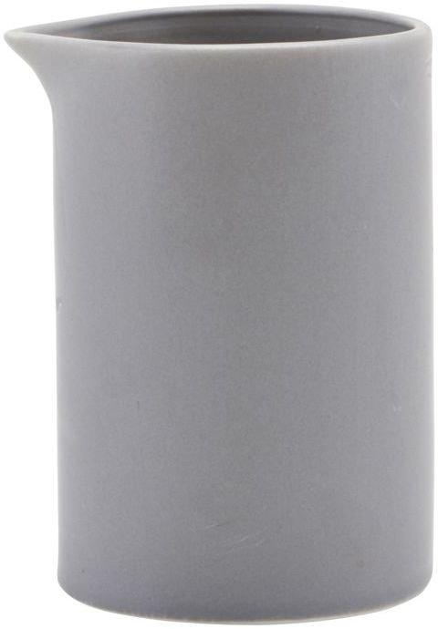 På billedet ser du variationen Mælkekande, Pot fra brandet House Doctor i en størrelse D: 6,5 cm. H: 10 cm. i farven Grå