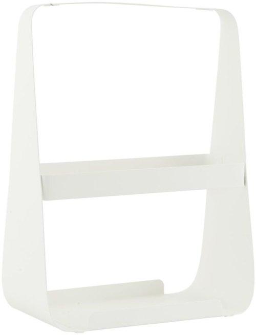 På billedet ser du variationen Magasinholder, Guide fra brandet House Doctor i en størrelse 25 x 13,5 cm. x H: 35 cm. i farven Hvid