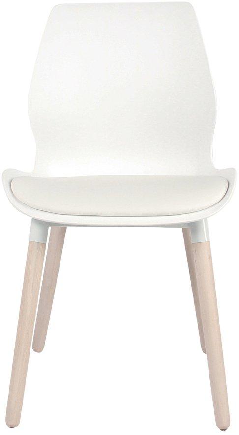 På billedet ser du Spisebordsstol, Nemo fra brandet Preform i en størrelse H: 86,5 cm. B: 48 cm. L: 55 cm. i farven Natur/Hvid