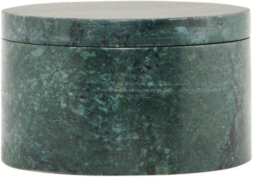 På billedet ser du variationen Opbevaring, Marble fra brandet House Doctor i en størrelse D: 10 cm. x H: 6 cm. i farven Grøn