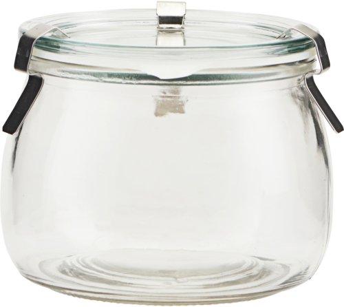 På billedet ser du variationen Opbevaringsglas, Use fra brandet House Doctor i en størrelse D: 11 cm. H: 8,4 cm. i farven Glas