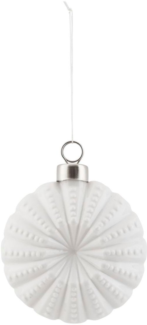 På billedet ser du variationen Ornament, Flower fra brandet House Doctor i en størrelse D: 7.5 cm. i farven Hvid