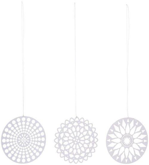 På billedet ser du variationen Ornament, Papercuts fra brandet House Doctor i en størrelse D: 10 cm. i farven Sølv