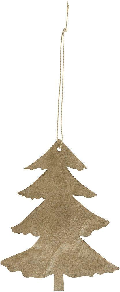 På billedet ser du variationen Ornament, Pine fra brandet House Doctor i en størrelse H: 12 cm. i farven Brun