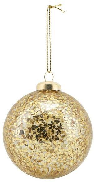 På billedet ser du variationen Ornament, Gold spots fra brandet House Doctor i en størrelse D: 8 cm. i farven Guld