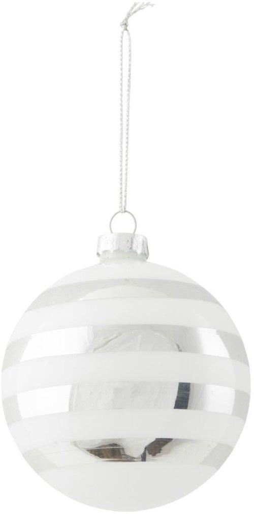 På billedet ser du variationen Ornament, Stribe fra brandet House Doctor i en størrelse D: 8 cm. i farven Sølv