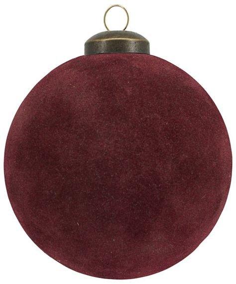 På billedet ser du variationen Ornamenter, Flock fra brandet House Doctor i en størrelse D: 8 cm. i farven Brændt henna