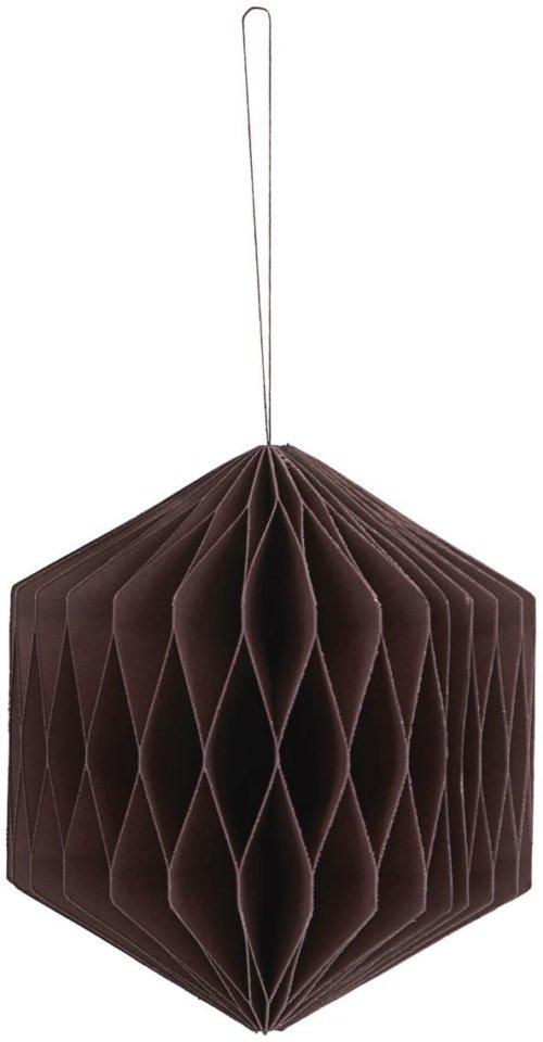 På billedet ser du variationen Ornament, Cube fra brandet House Doctor i en størrelse D: 8 cm. i farven Bordeaux