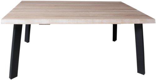 På billedet ser du variationen Sofabord, Curve sofa, B4 fra brandet Preform i en størrelse H: 47 cm. B: 72 cm. L: 110 cm. i farven Lys Natur/Sort