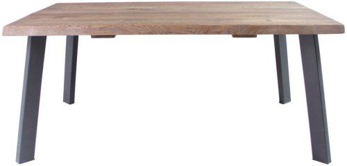 På billedet ser du variationen Sofabord, Curve sofa, B4 fra brandet Preform i en størrelse H: 47 cm. B: 80 cm. L: 120 cm. i farven Mørk Natur/Sort