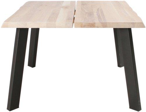På billedet ser du variationen Sofabord, Curve Plade, B4 fra brandet Preform i en størrelse H: 47 cm. B: 72 cm. L: 72 cm. i farven Lys Natur/Sort