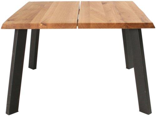 På billedet ser du variationen Sofabord, Curve Plade, B4 fra brandet Preform i en størrelse H: 47 cm. B: 72 cm. L: 72 cm. i farven Natur/Sort