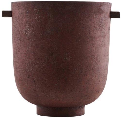 På billedet ser du variationen Foem, Planter fra brandet House Doctor i en størrelse D: 25 cm. x H: 28 cm. i farven Rød