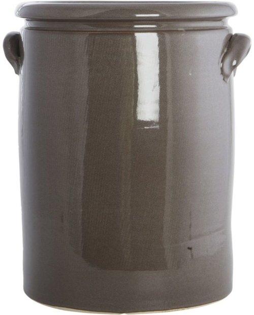 På billedet ser du variationen Pottery, Planter fra brandet House Doctor i en størrelse D: 28/32 cm. x H: 36 cm. i farven Brun