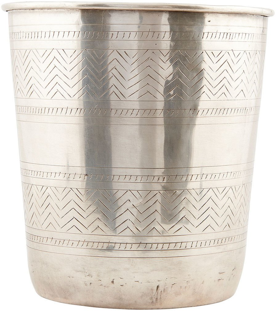 Image of   Ethnic, Potte by House Doctor (D: 18/23 cm. x H: 26 cm., Sølv)