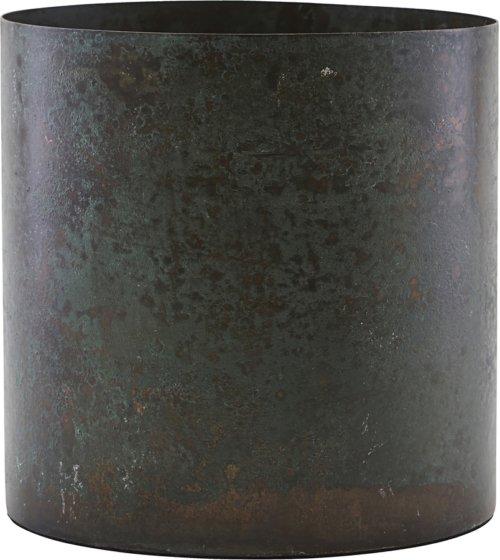 På billedet ser du variationen Potte, Luba fra brandet House Doctor i en størrelse D: 14 cm. H: 14 cm. i farven Brun