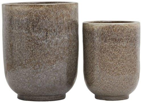 På billedet ser du variationen Potte, Pho fra brandet House Doctor i en størrelse D: 45 cm. H: 55 cm. i farven Nougat