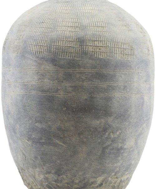 På billedet ser du variationen Potte, Rustik, High fra brandet House Doctor i en størrelse H: 47 cm. i farven Beton