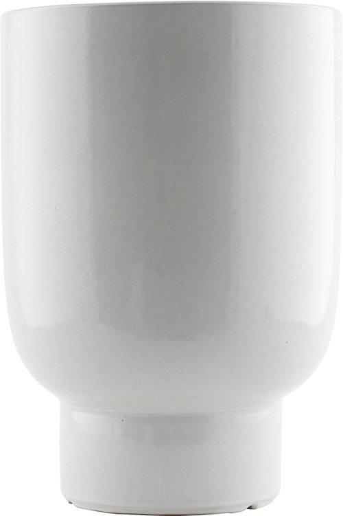 På billedet ser du variationen Potte, Unison fra brandet House Doctor i en størrelse D: 22 cm. H: 32 cm. i farven Hvid