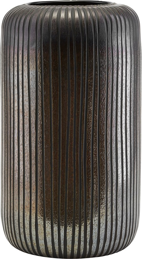 På billedet ser du variationen Vase, Utla fra brandet House Doctor i en størrelse D: 16,7 cm. H: 30 cm. i farven Brun/Sort