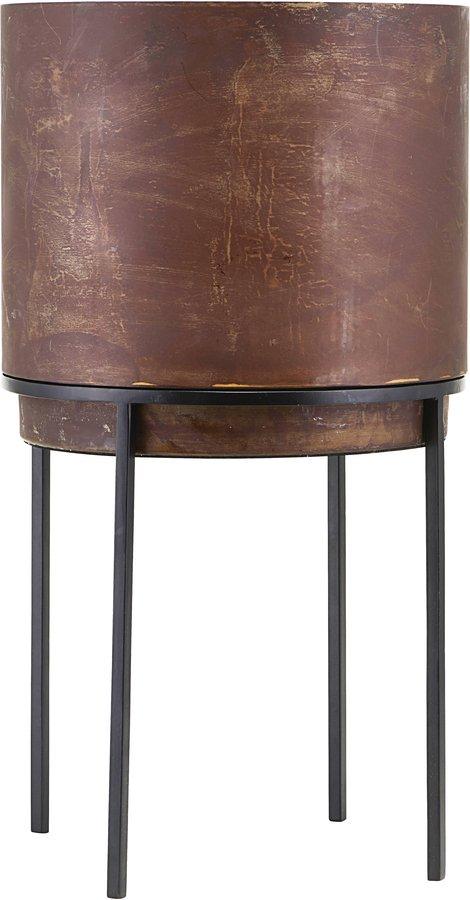 På billedet ser du variationen Potter, Nian fra brandet House Doctor i en størrelse D: 25 cm. H: 46 cm. i farven Rust
