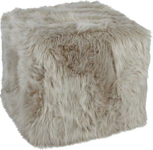På billedet ser du variationen Puffe, Square, Deco skin fra brandet Preform i en størrelse H: 40 cm. B: 45 cm. L: 45 cm. i farven Lysegrå