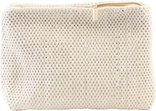 På billedet ser du variationen Pung, Fia fra brandet House Doctor i en størrelse H: 21 cm. L: 30 cm. i farven Hvid