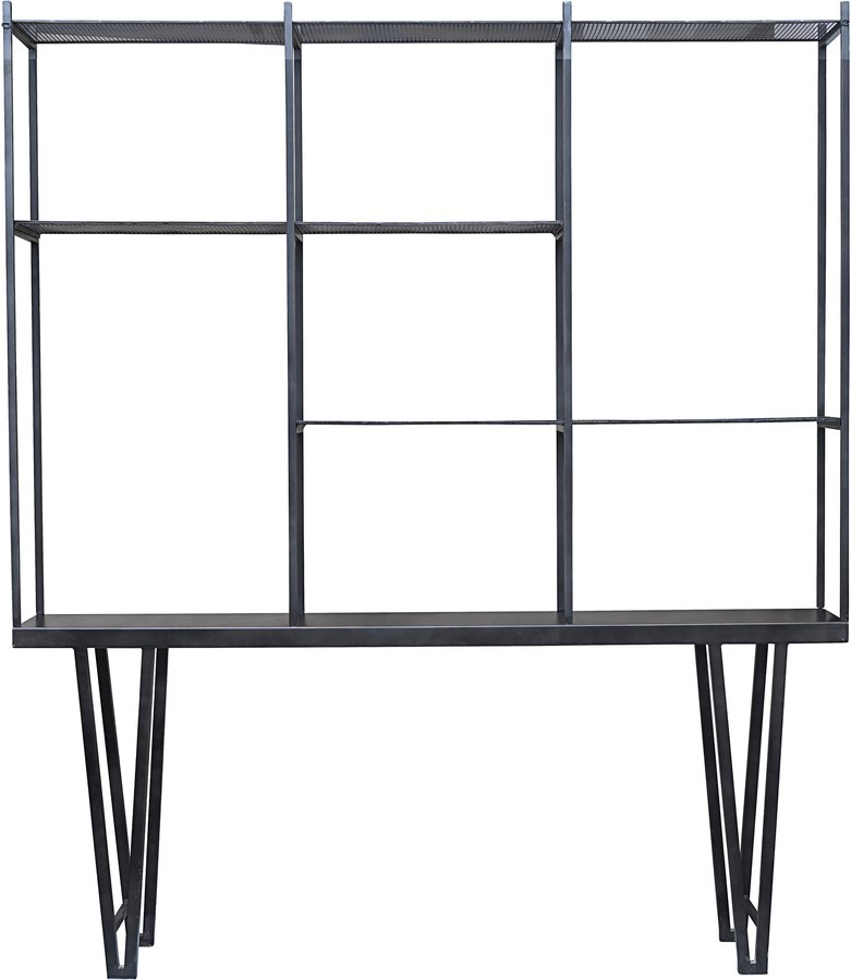 Image of   Rack, Rawi, Jern by House Doctor (H: 250 cm. B: 35 cm. L: 210 cm., Jern)