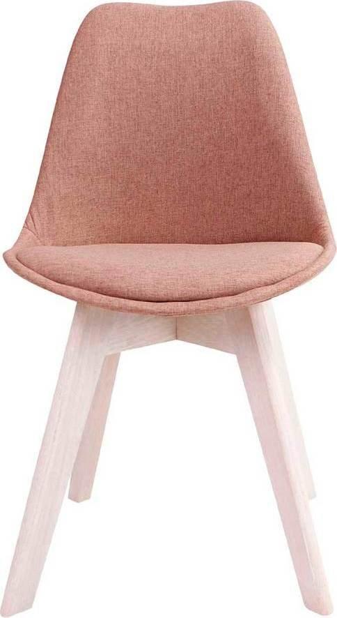 På billedet ser du Spisebordsstol, Rosa fra brandet Preform i en størrelse H: 86 cm. B: 53 cm. L: 49 cm. i farven Brun/Hvid