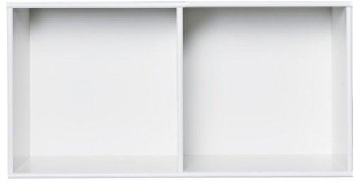På billedet ser du variationen Rumdeler, Space 2 rooms modul fra brandet Preform i en størrelse H: 33 cm. B: 72 cm. L: 37 cm. i farven Hvid