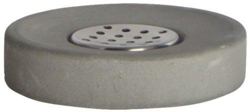 På billedet ser du variationen Cement, Sæbeholder fra brandet House Doctor i en størrelse H: 2,5 cm. x D: 11 cm. i farven Grå