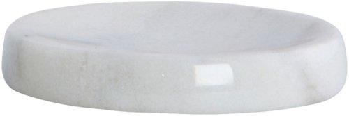 På billedet ser du variationen Marble, Sæbeholder fra brandet House Doctor i en størrelse D: 12 cm. x H: 2 cm. i farven Hvid