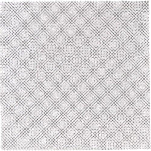 På billedet ser du variationen Middagsserviet, Windows fra brandet House Doctor i en størrelse B: 40 cm. L: 40 cm. i farven Sort/Hvid