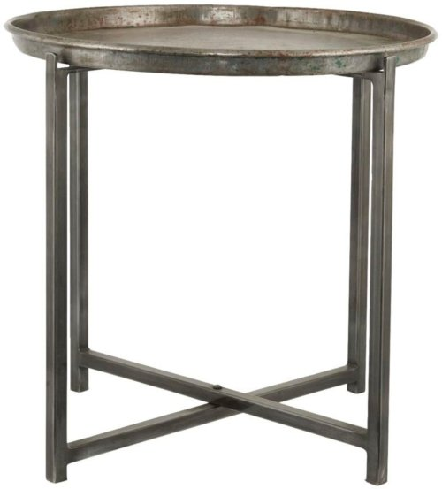 På billedet ser du variationen Cool, Sidebord, Rundt fra brandet House Doctor i en størrelse D: 56 cm. x H: 54 cm. i farven Jern