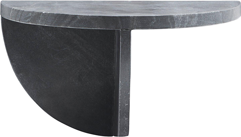 Sidebord, Mega, Vægmonteret by House Doctor (H: 18 cm. B: 36 cm. L: 18 cm., Mørkegrå)