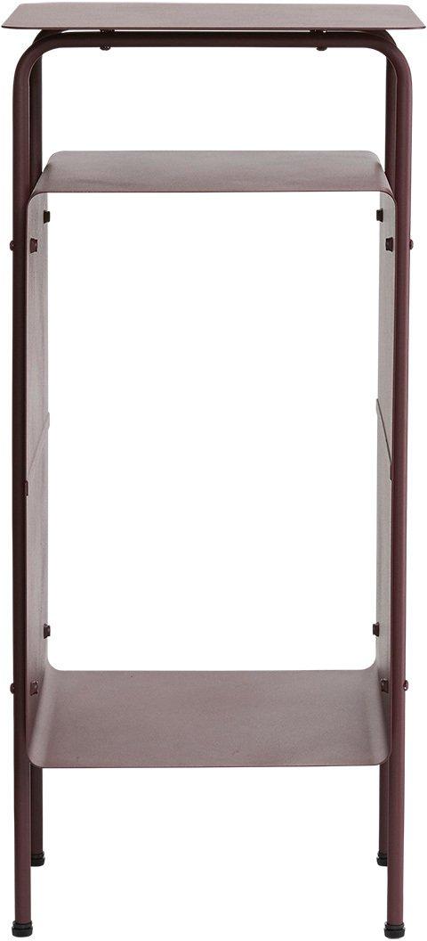 På billedet ser du variationen Sidebord, Room fra brandet House Doctor i en størrelse 32 x 30 cm. x H: 70 cm. i farven Vinrød