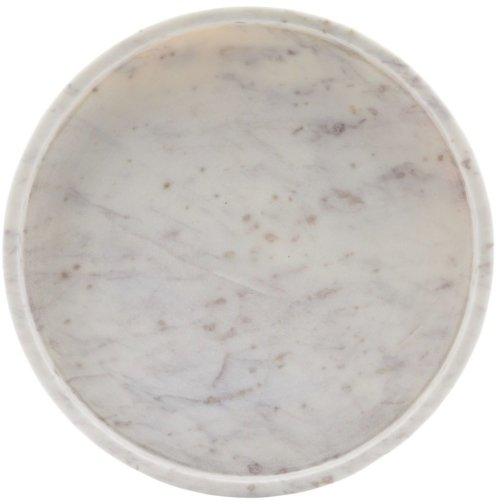 På billedet ser du variationen Skål, Poli fra brandet House Doctor i en størrelse D: 30 cm. H: 4 cm. i farven Hvid