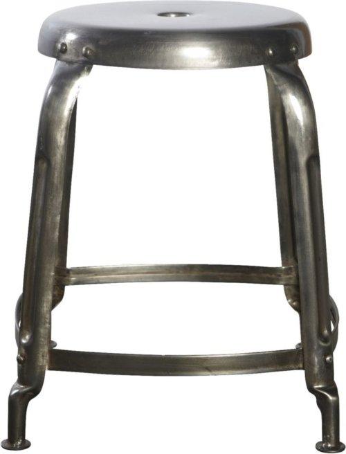 På billedet ser du variationen Skammel, Define fra brandet House Doctor i en størrelse D: 36 cm. x H: 45 cm. i farven Jern
