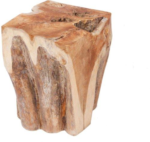 På billedet ser du variationen Skammel, Teak wood fra brandet Preform i en størrelse H: 39 cm. B: 30 cm. L: 28 cm. i farven Natur