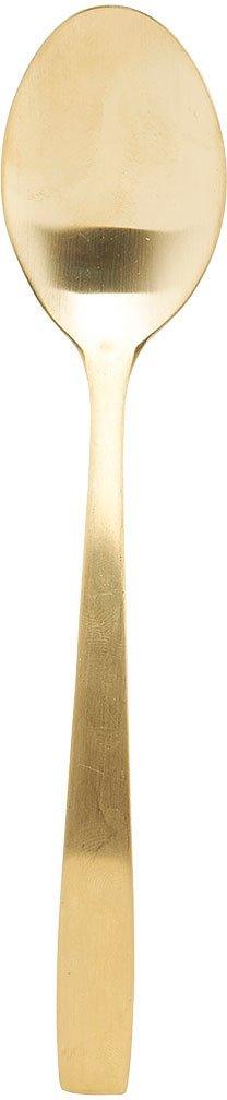 På billedet ser du variationen Elegant, Ske fra brandet House Doctor i en størrelse L: 20,5 cm. i farven Guld