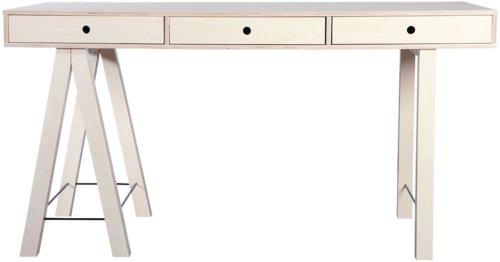 På billedet ser du variationen Skrivebord, Mix fra brandet House Doctor i en størrelse 150 x 65 cm. x H: 76 cm. i farven Natur