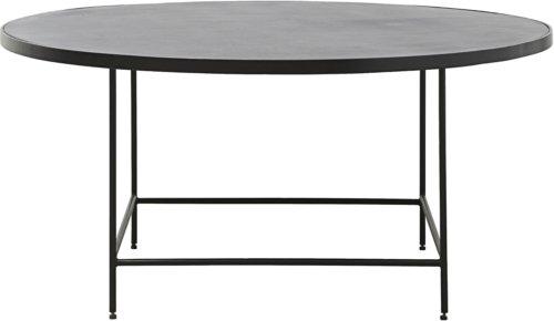 På billedet ser du variationen Sofabord, Balance fra brandet House Doctor i en størrelse D: 100 cm. H: 45 cm. i farven Sort