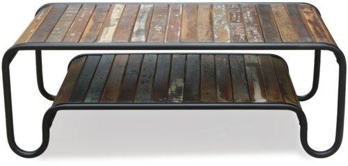 På billedet ser du variationen Sofabord, Christiania Hip fra brandet OBUZI i en størrelse H: 45 cm. B: 120 cm. L: 60 cm. i farven Multi
