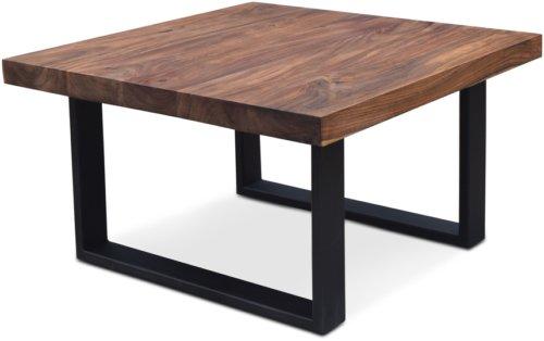 På billedet ser du variationen Sofabord, HayFay-S fra brandet OBUZI i en størrelse H: 45 cm. B: 80 cm. L: 80 cm. i farven Mørk Natur/Sort