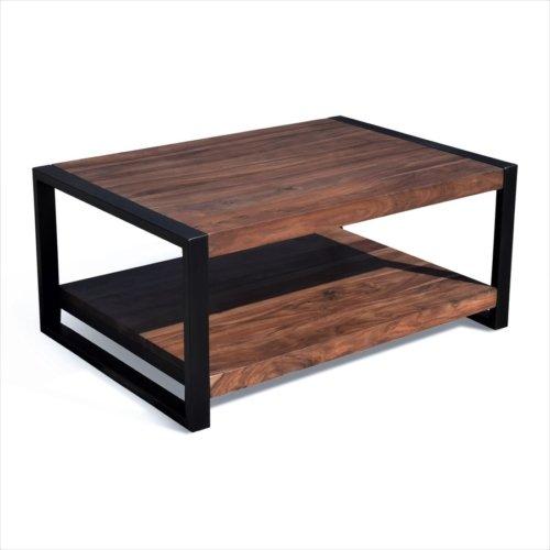 På billedet ser du variationen Sofabord, HayFay fra brandet OBUZI i en størrelse H: 45 cm. B: 120 cm. L: 70 cm. i farven Mørk Natur/Sort