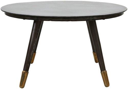 På billedet ser du variationen Raw, Sofabord fra brandet House Doctor i en størrelse D: 80 cm. x H: 45 cm. i farven Sort