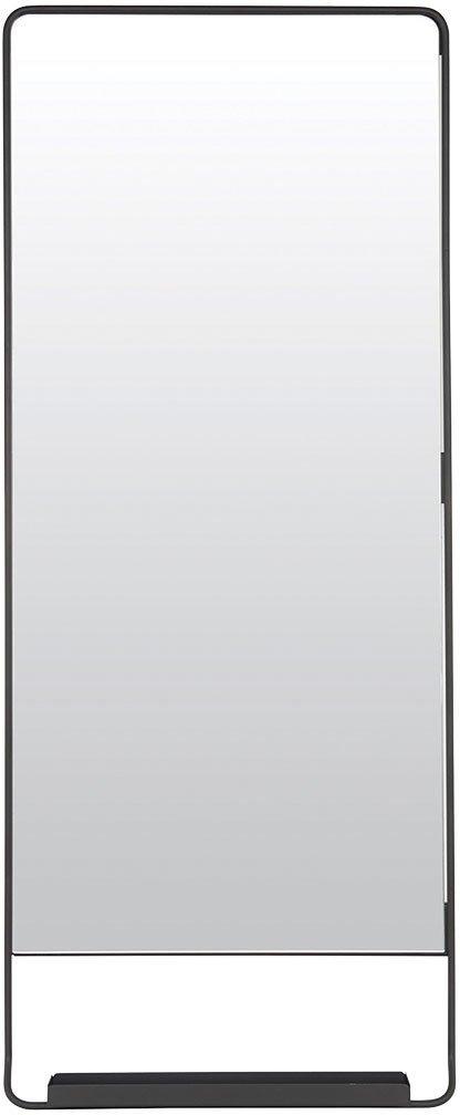 På billedet ser du variationen Chic, Spejl m. hylde fra brandet House Doctor i en størrelse 45 x 110 cm. i farven Sort