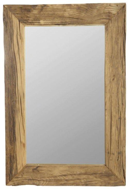 På billedet ser du variationen Pure nature, Spejl fra brandet House Doctor i en størrelse 60 x 90 cm. i farven Natur