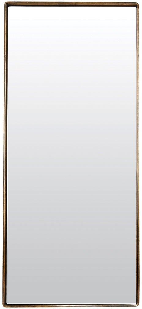 På billedet ser du variationen Refleksion, Spejl, Reflektion fra brandet House Doctor i en størrelse 80 x 35 x 4 cm. i farven Messing
