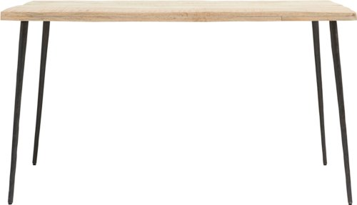 På billedet ser du variationen Spisebord, Club fra brandet House Doctor i en størrelse H: 76 cm. B: 80 cm. L: 140 cm. i farven Natur/Sort